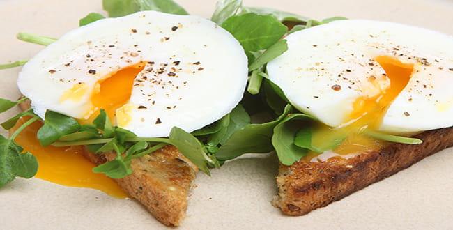 Традиционные яйца пашот