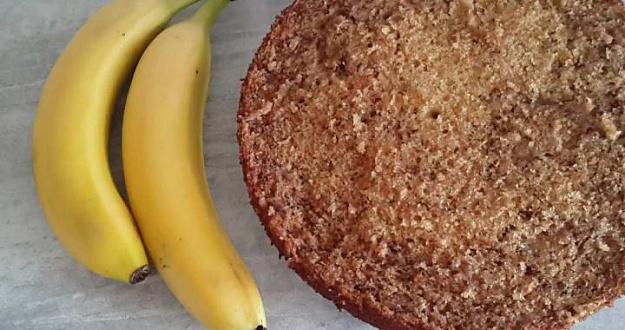 Ароматный и очень вкусный банановый бисквит🍰