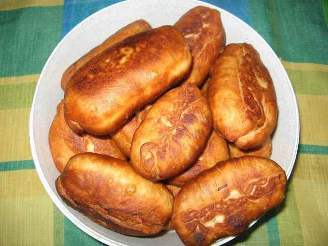 Готовим жареные пирожки с капустой