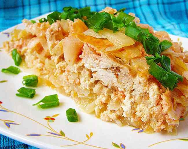 Как быстро приготовить капустную запеканку