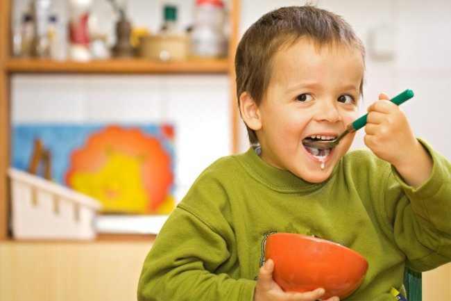 Паровой омлет - завтрак для деток