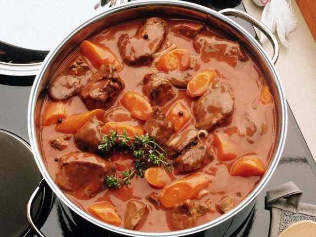 Вкусное рагу с мясом и овощами