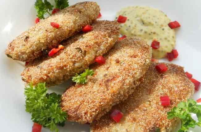 Вкусные котлетки из рыбных консервов с макой