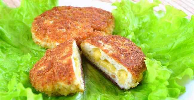 Как приготовить вкусные рубленые котлеты с сыром