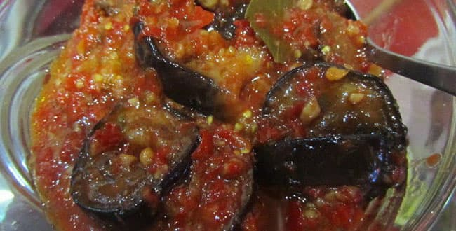 Рецепт приготовления баклажан на зиму: тещин язык