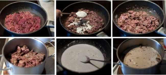 Готовим куриную печень в сметанном соусе