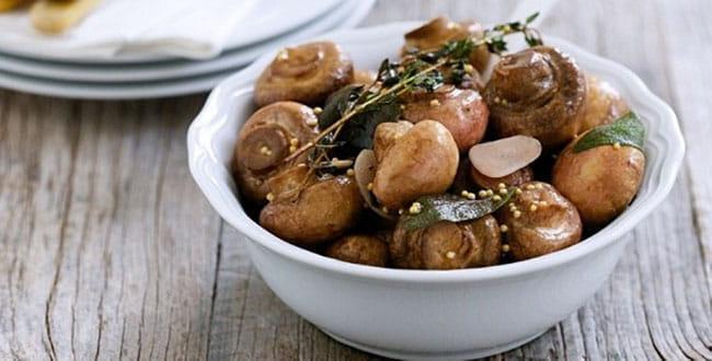 Маринованные белые грибы — простой пошаговый рецепт с картинками