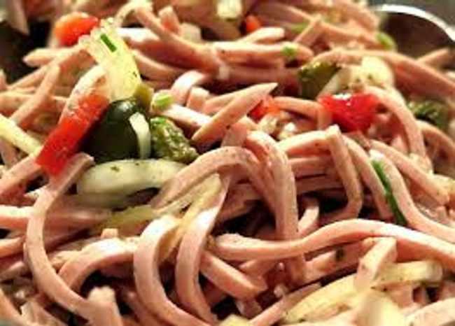 Готовим красивый и вкусный салат - рецепт с фото