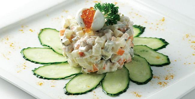Салат столичный — классический рецепт