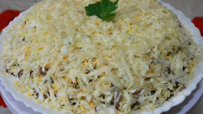 Салат мужской каприз - простой салат быстро и вкусно