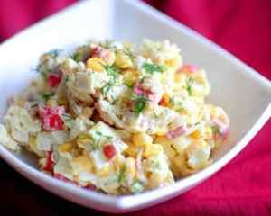 Готовим вкусный салат из морепродуктов