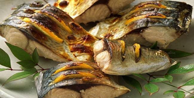 Скумбрия запечённая в духовке 🥝 вкусное приготовление кусочками и целиком