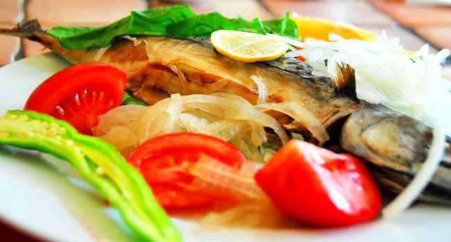 Вкусная скумбрия в духовке рецепт с фото