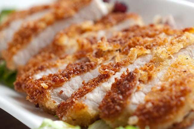 Вкусные свиные отбивные на сковороде рецепт