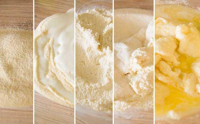 Вкусный манник на кефире - простой рецепт