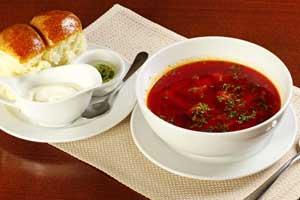 Рецепты простых первых блюд - борщ