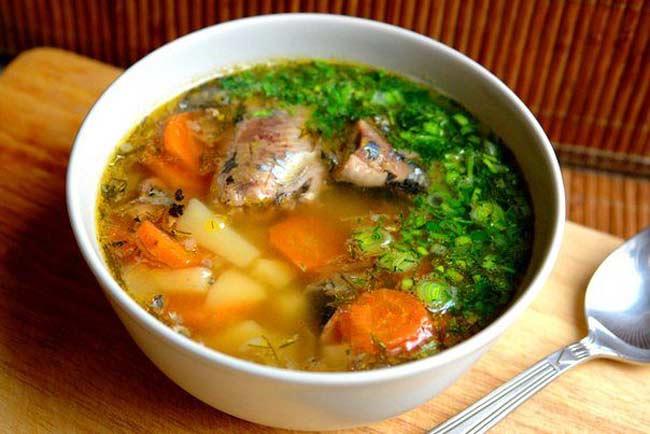 Что можно приготовить в постные дни - суп на рыбном бульоне