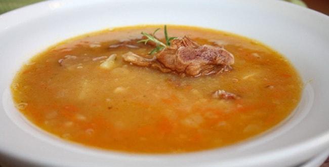 Гороховый суп с копченостями пошаговый рецепт 🥝 как сварить с ребрами и горохом