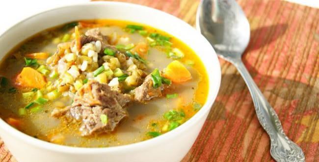 Шурпа из говядины или баранины по-узбекски — рецепт с фото
