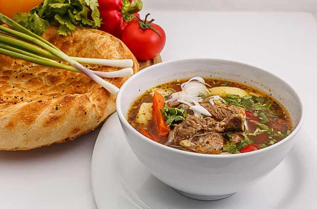 Шурпа из баранины по-узбекски рецепт быстро и просто