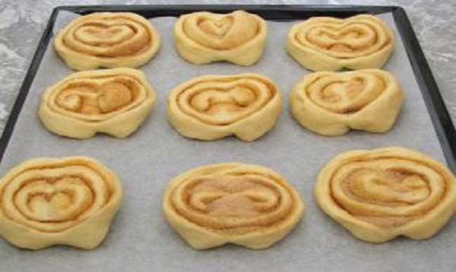 Рецепт сладких дрожжевых булочек