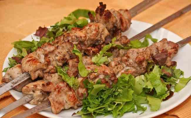 Вкуснейший шашлык +из курицы рецепт с фото