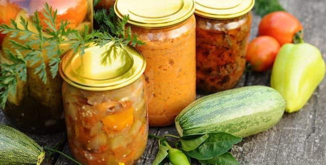 Консервация кабачков 🥝 рецепт вкусных консервированных кабачков