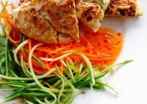 С какими блюдами кушать салат из кабачков