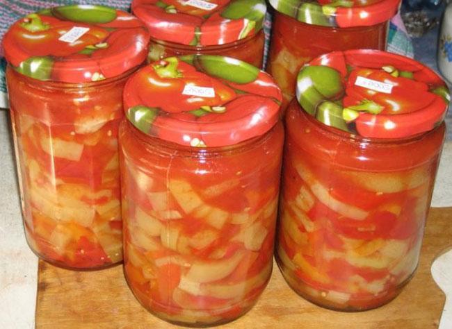 Поэтапный рецепт салата из кабачков без стерилизации