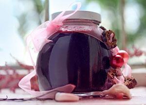 Как хранят черничное варенье