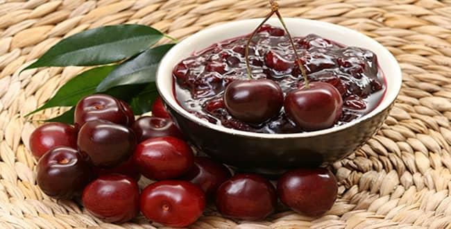 Вкусное варенье из вишни без косточек Пятиминутка: рецепт на зиму