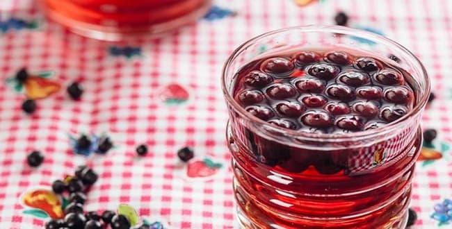 Вкусный компот из черники на зиму: простой рецепт