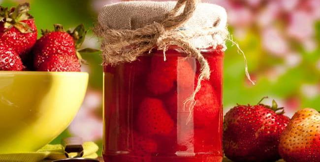 Клубника на зиму рецепты 🥝 клубничного варенья