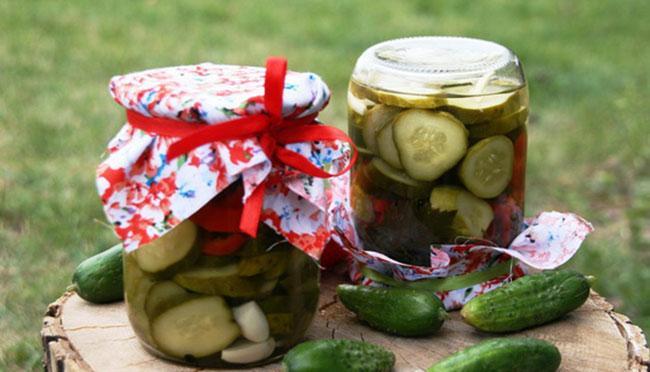 Как хранят заготовки салата из огурцов