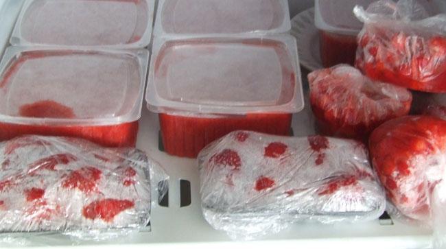 Как хранить замороженную клубнику