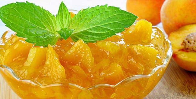 Как приготовить варенье из персиков дольками на зиму: простой рецепт с фото