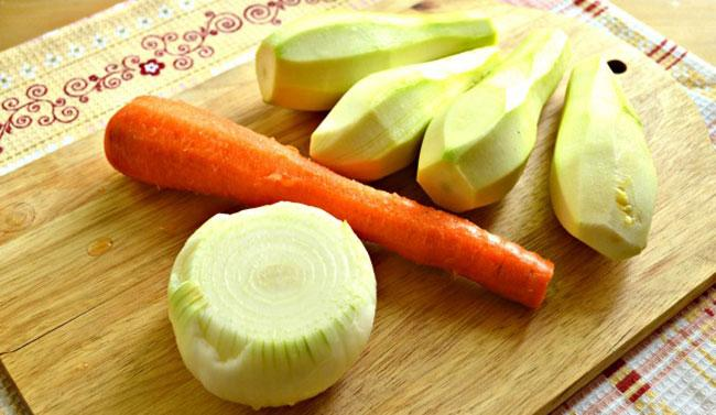 Как выбрать и подготовить овощи для икры