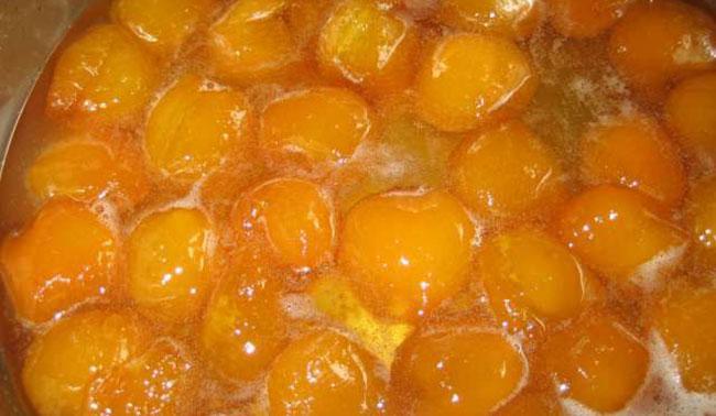 Как приготовить абрикосовое варенье с апельсинами