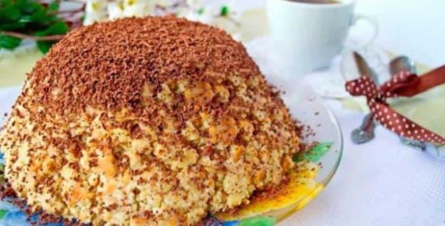 Торт Муравейник рецепт приготовления 🥝 пошагово