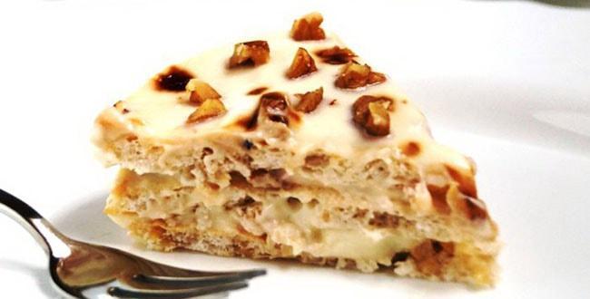 Пошаговый рецепт Королевского торта без муки