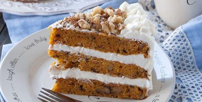 Классический рецепт Морковного торта с маскарпоне