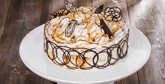 Пошаговый рецепт торта Дамские пальчики с фото