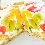Желейный торт Битое стекло