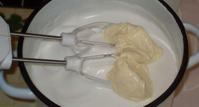 Делаем суфле для торта Птичье молоко