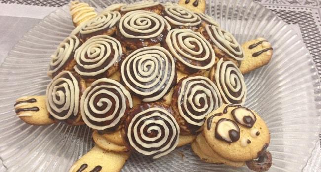 Готовый торт Черепаха по классическому рецепту