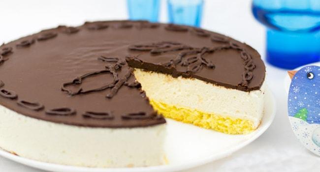 Торт Птичье молоко классический по ГОСТу
