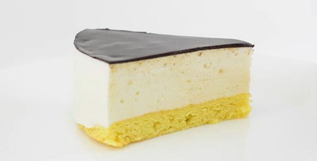Так выглядит торт Птичье Молоко с манкой и лимоном