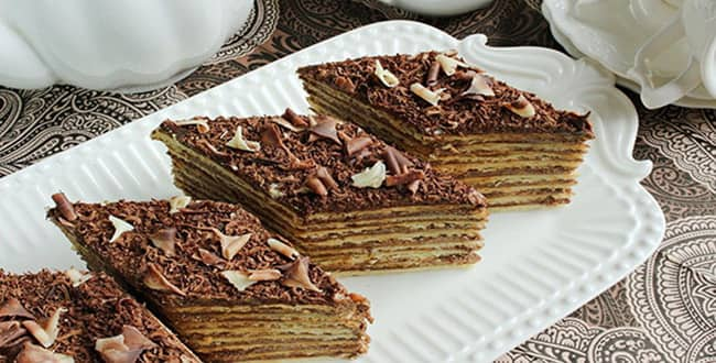 Торт микадо - классический армянский рецепт с фото