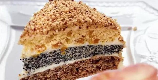 Классический пошаговый рецепт Королевского торта