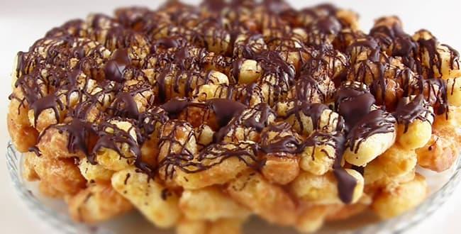 Пошаговый рецепт торта из Кукурузных палочек с фото
